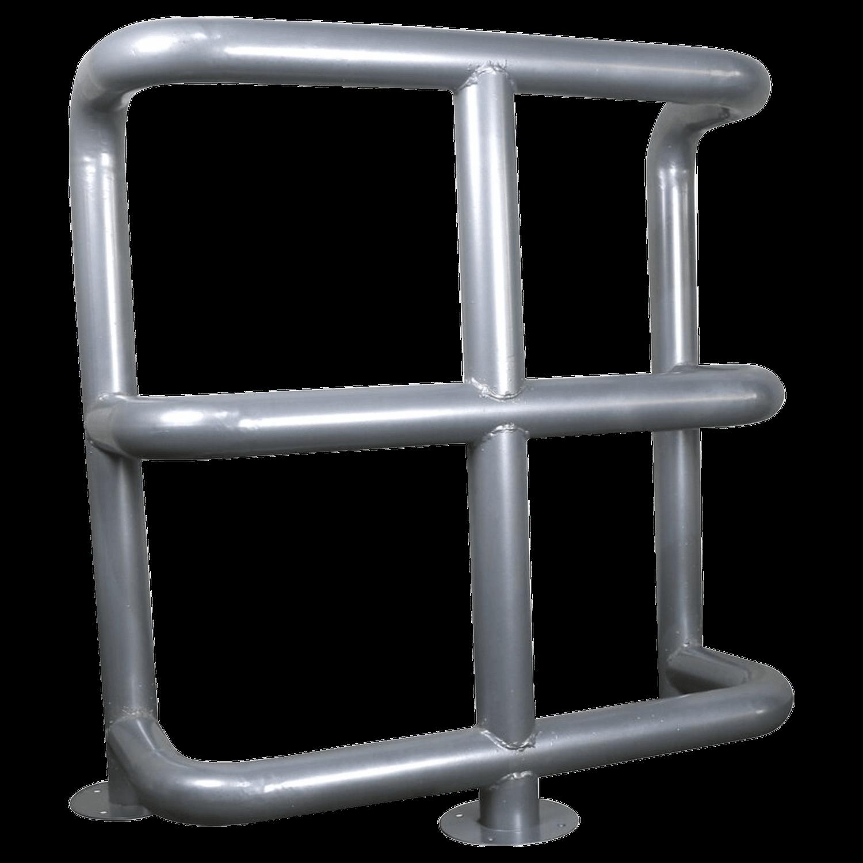 Колесоотбойник металлический 3-х ярусный К-6
